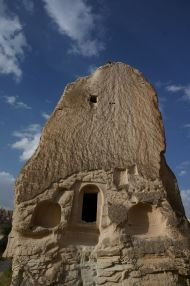 A building in one of the valleys near Göreme