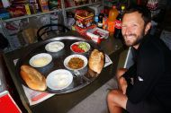 Our unexpected lunch in Sevdili