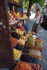 Rainbows of colour on the streets of Tbilisi