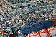 Striking plates for sale, Bukhara