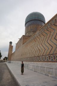 Outside the Registan, Samarkand