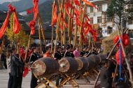 Miao New Year rehearsals