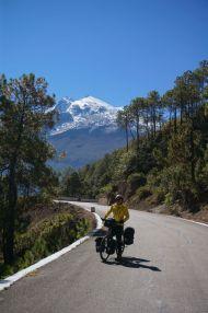 Annina (<2m) and Haba Snow Mountain (5396m)