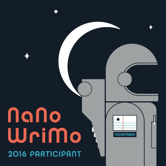 NaNoWriMo 2016 Participant Web Badge