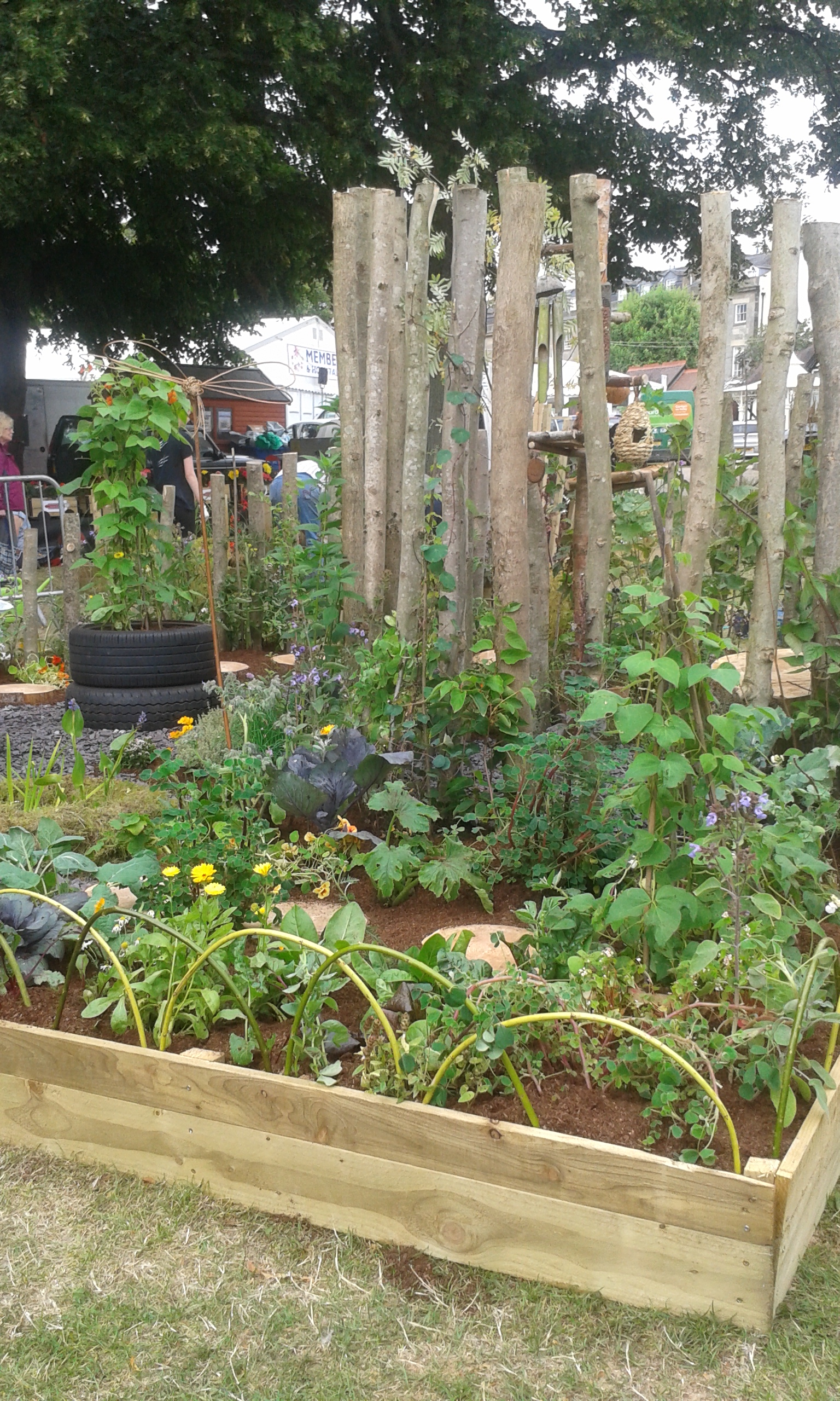 Our Permaculture Garden Wins a Gold Medal at Shrewsbury ... on Backyard Permaculture Design id=34491