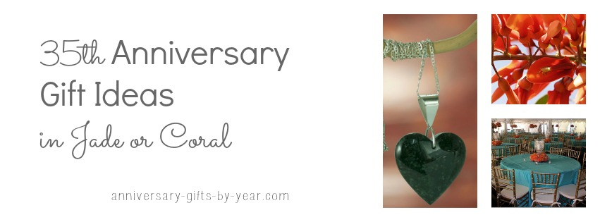 35th Wedding Anniversary Gifts Guide