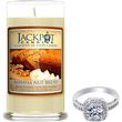 Natural Soy Candle with Jewelry