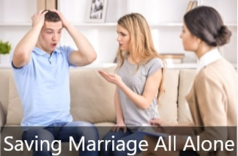 saving marriage all alone