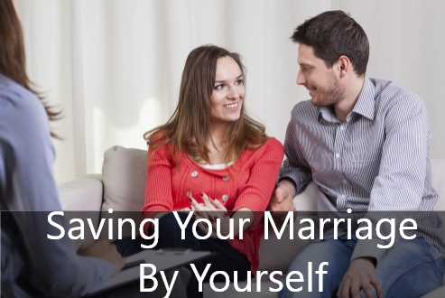 saving your marriage by yourself