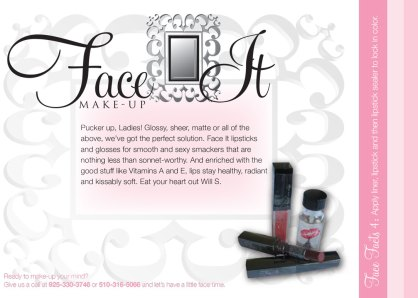 Face It Makeup (print ads)