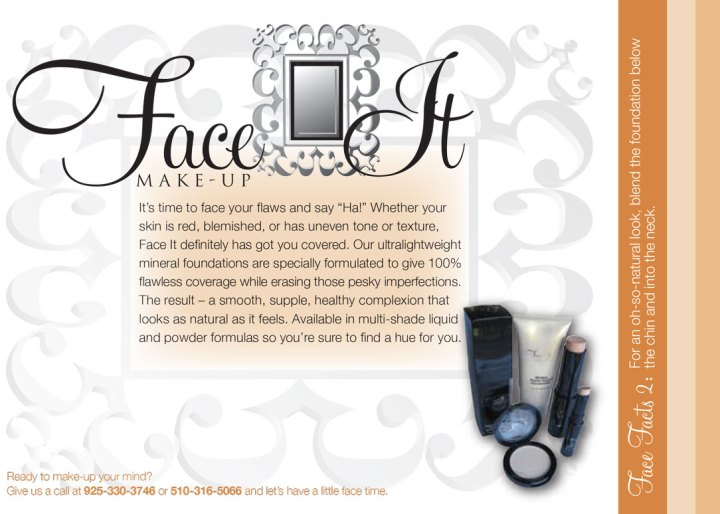 Face It Makeup (product brochures)