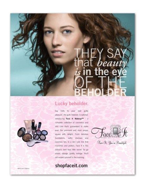 Face It Makeup (print ads)