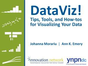 #YNPNdc14: DataViz! Tips, Tools, and How-tos for Visualizing Your Data