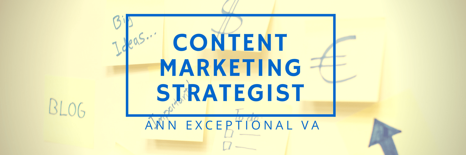 Ann Exceptional VA Skills_Content Marketing Strategist