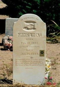 James Holt b. 10 Feb 1804, d. 25 Jan 1894 Headstone, Enterprise, Utah