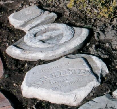 Lewis, Ann John Headstone (3)