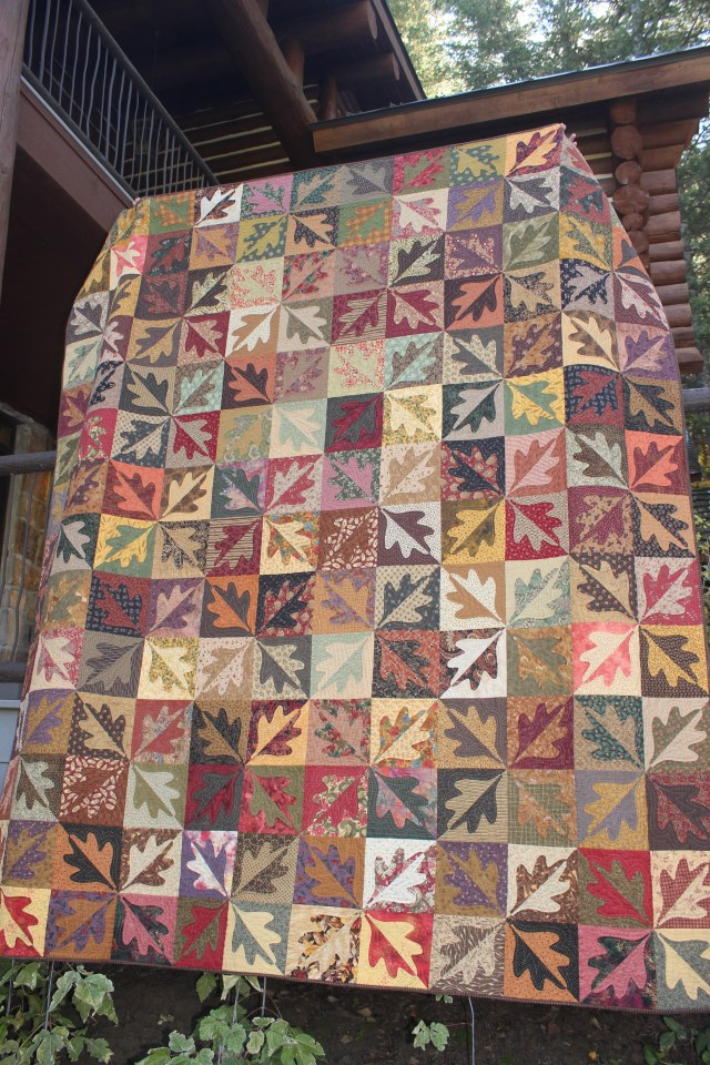Quilt, Fall Leaves (1)