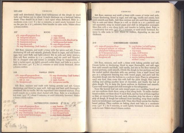 Cookbook, Grace's (4)