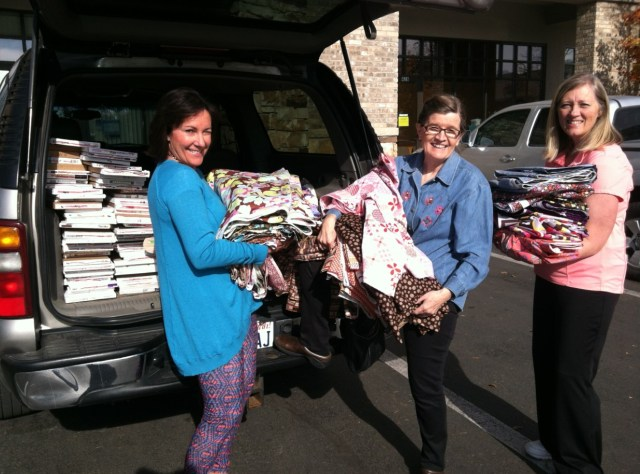 Days for Girls, AQ Fabric Donation 2