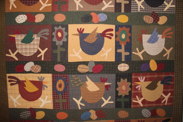 Quilt Chicken Run (2)