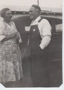 Grandma and Grandpa Barker