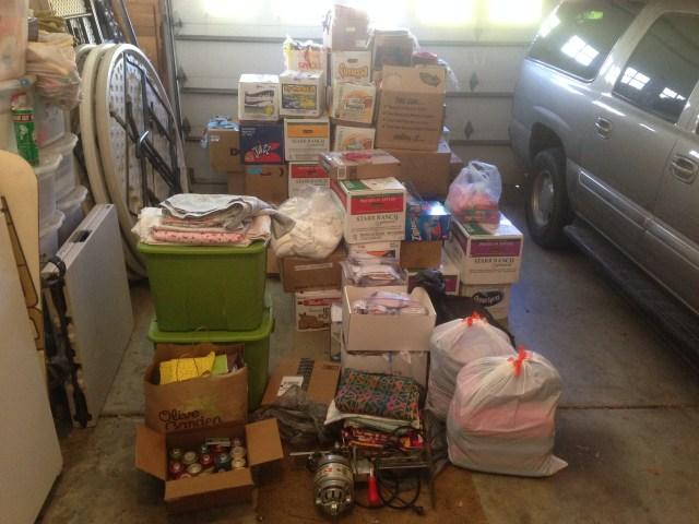 2015-3-8 Piles in Garage