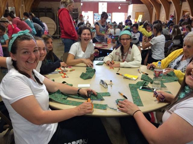 2015-6-17 Girls Camp
