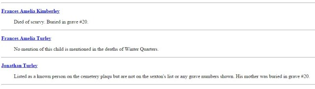 WQ Ward 15 Death notes