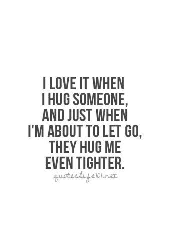 Hug tighter
