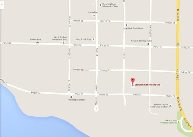 Nauvoo map JS Home