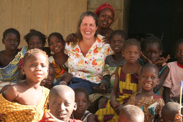 Ann in Mali