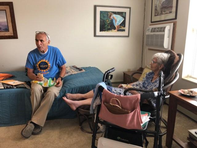 2018-8-7 Visiting Frances Gray MN (1)
