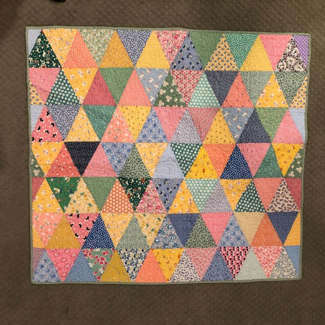 2019 Gracie's Triangles baby by Ann Lewis (1)