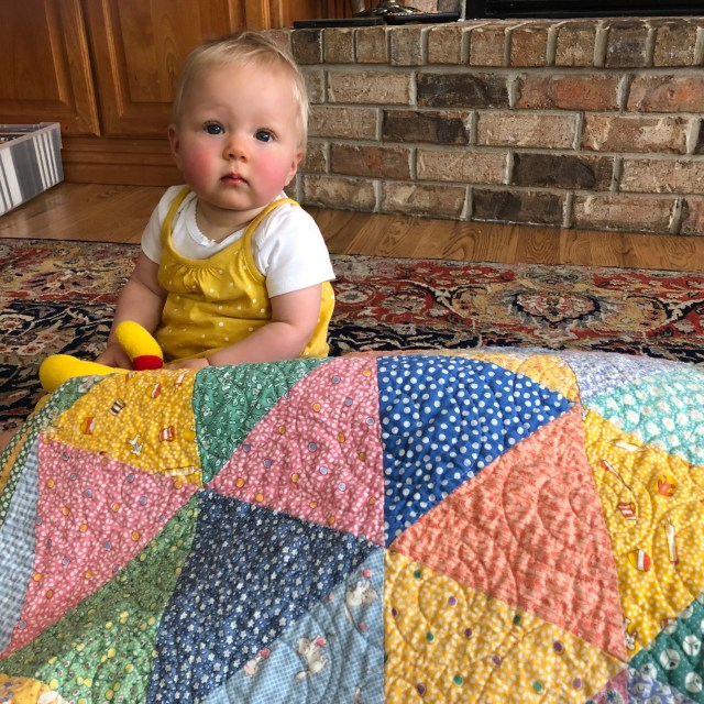 2019 Gracie's Triangles baby by Ann Lewis (3)