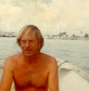 Dad during the boat years