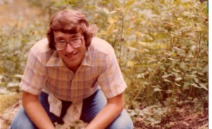 Jim Miller as a campus minister/seminary student in 1979