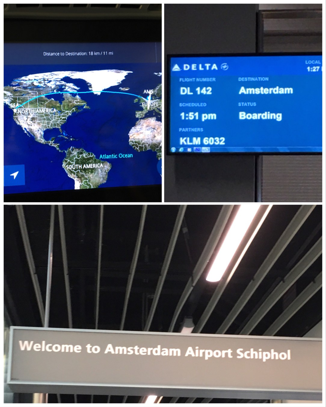 Seattle to the Netherlands