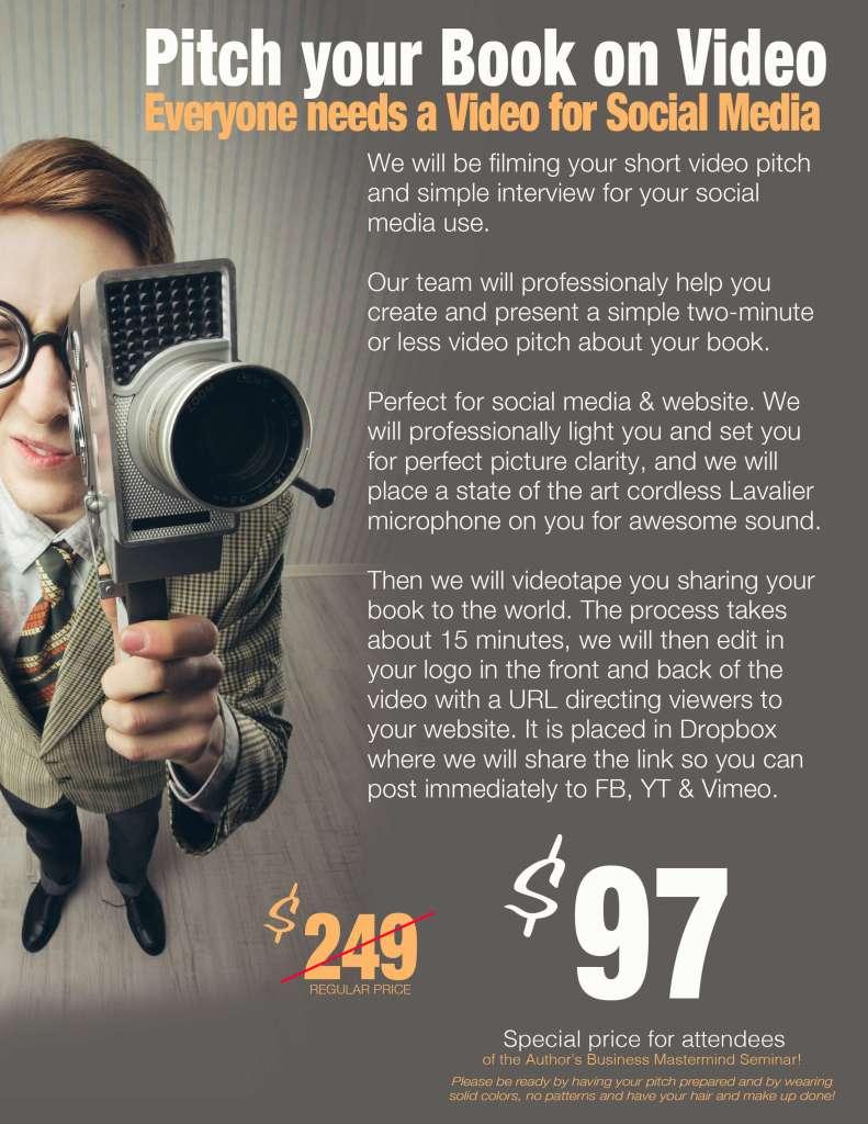 $97 video shoot
