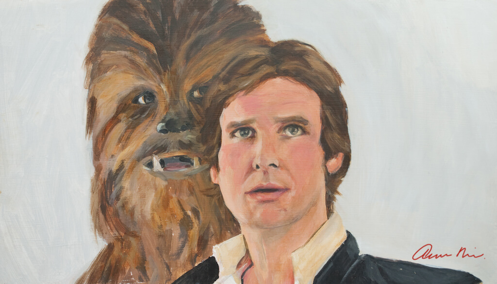 Han and Chewie, 2013