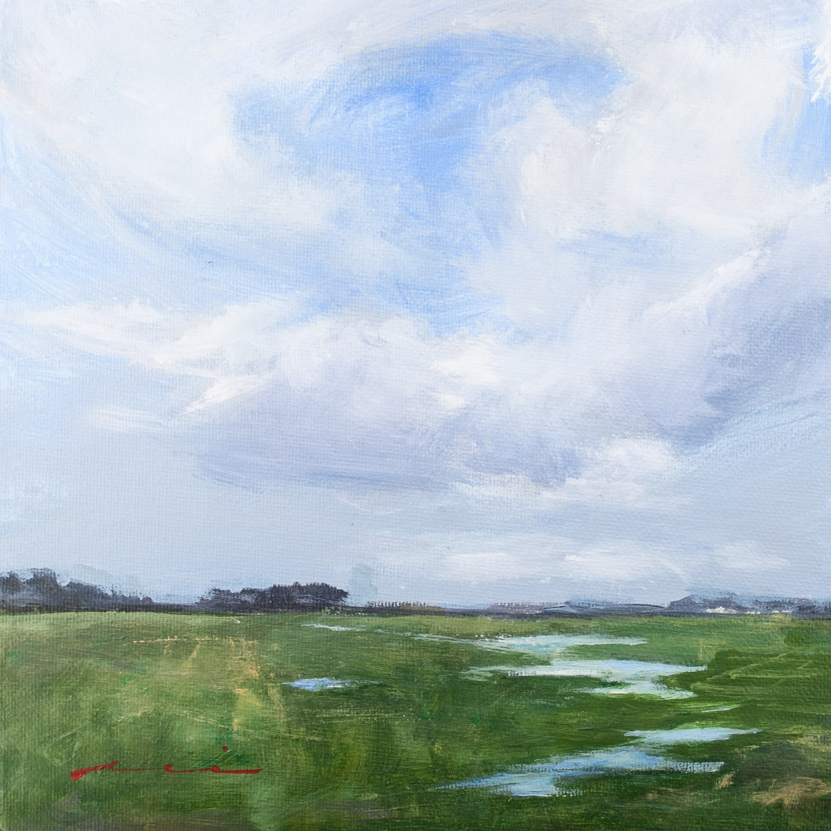 Early Spring Landscape, 2018