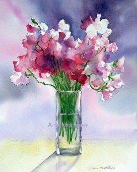 Impression Sweet Peas