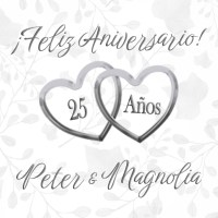 Peter and Magnolia 25th Anniversary