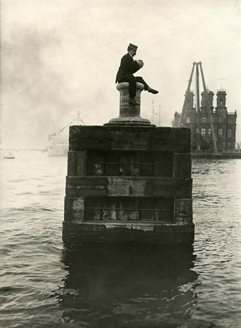 Uniek beeld van Amsterdam rond 1900