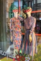 Olimpia Zagnoli for Marella, stripes and Matisse