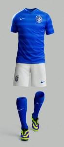 Brazil 2014 World Cup Away Kit (3)