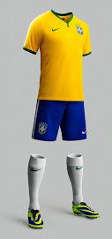 Brazil 2014 World Cup Home Kit (3)
