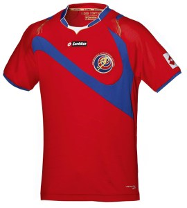 Costa Rica 2014 World Cup Home Kit