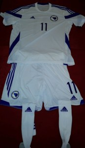 Bosnia and Herzegovina 2014 World Cup Home Kit