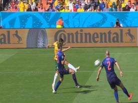Tim Cahill, Australia-Olanda 2-3