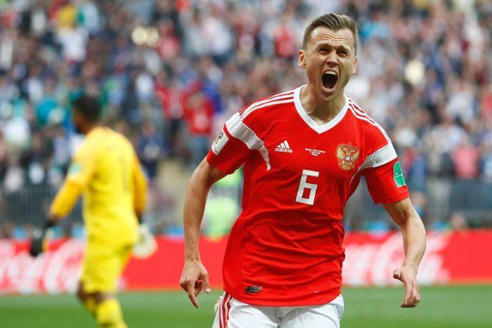 Diario #1 – Russia v Arabia S. 5-0
